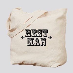 Best Man - Old West Tote Bag